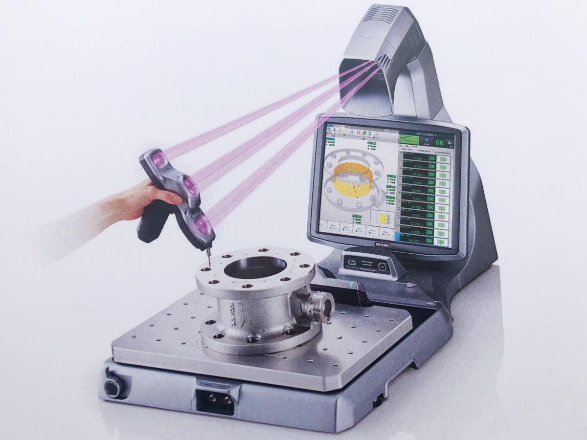 ハンディプローブ三次元測定機 XM SERIES